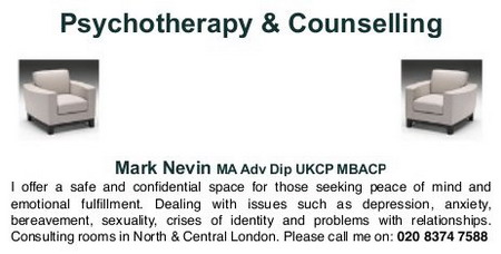 mark nevin psychotherapy